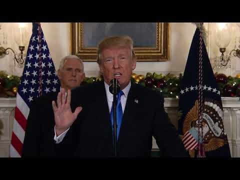 FULL SPEECH: President Trump declares Jerusalem as capital of Israel (11 minutes)