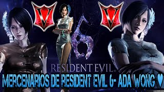 Mercenarios de Resident Evil 6 - Ada de gala oriental! ♥