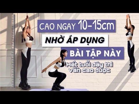 CAO NGAY 10-15CM NHỜ ÁP DỤNG BÀI TẬP NÀY | Hết Tuổi Dậy Thì Vẫn Cao Dễ Dàng || Lê Bống Channel