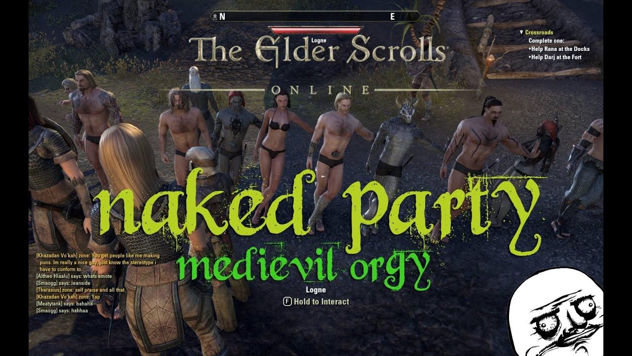 The elder scrolls nued