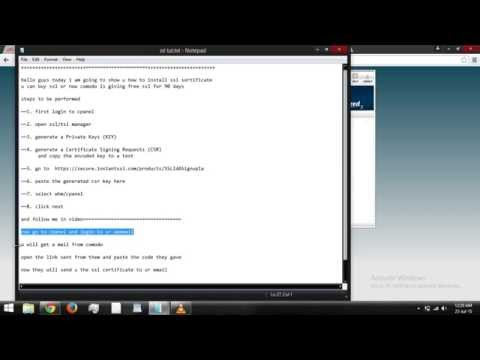How To Add/install Ssl Certificate To Domain / How To Make A Domain Https