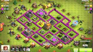 Clash of Clans (20 Hugs, 3 Dragons, 40 Goblins, Barbarian King, 2 Healing Spells)