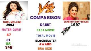 Download Video Koel Mallick vs Srabanti Chatterjee Comparisin,height,wight,age,blockbuster movie,award. MP3 3GP MP4