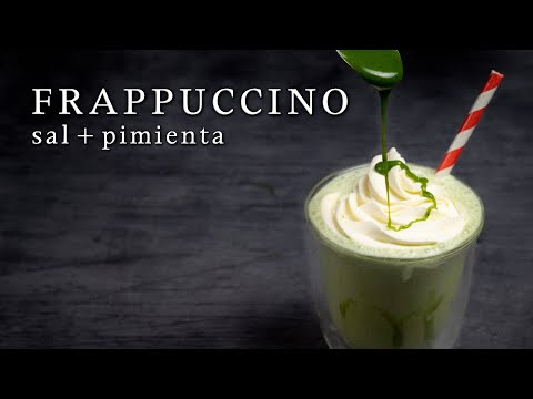 Receta Frappuccino de Matcha y Chocolate blanco ➡ Directo de Japón | Cocina Japonesa