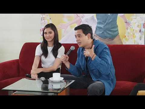 John Lloyd and Sarah on the message to their future wife/husband