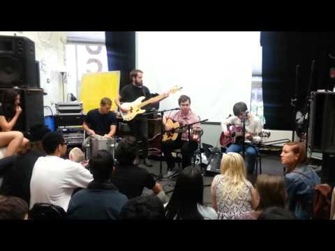 Surfer Blood live at WMUC (University of Maryland Radio Station) Part 1