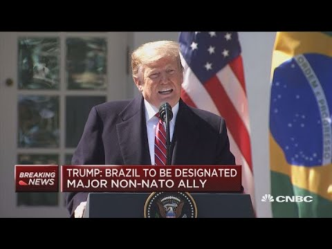 Trump: Will allow US firms to conduct space launches from Brazil