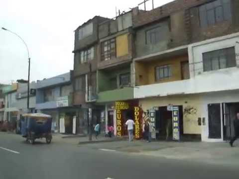 SAN MARTIN DE PORRES, From Av. Peru 15  To Av. Peru 37       LIMA  31  PERU  South America