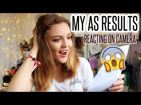 MY AS RESULTS 2017! (Reacting on Camera) | BeautySpectrum