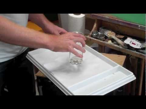 Acrylic Painting Lessons: setting up an acrylic staywet palette