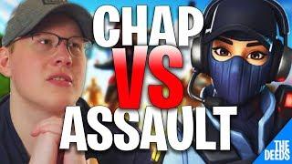 Ghost Assault 1 VS 1 Liquid Chap | Fortnite Creative 1v1 *GHOST VS LIQUID*
