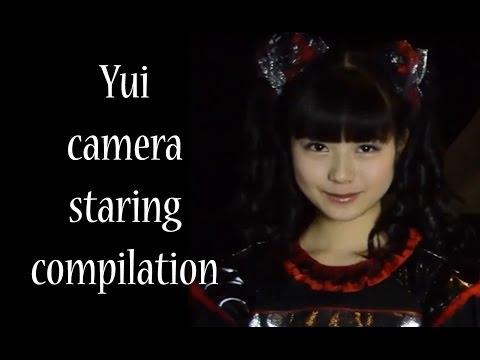 Yui Mizuno (水野由結) Staring into the camera compilation