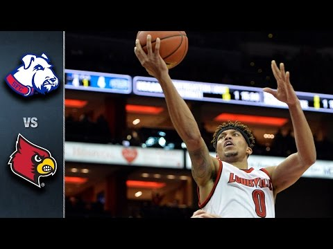 Louisville vs. St. Francis Brooklyn Basketball Highlights (2015-2016)
