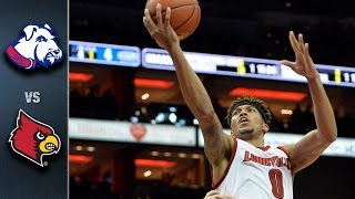 Louisville vs. St. Francis Brooklyn Basketball Highlights (2015-2016)