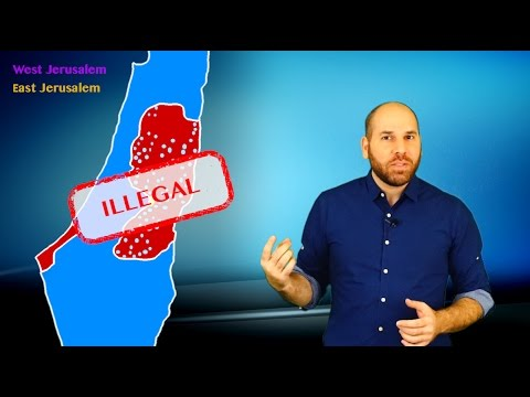 3 Myths about Israeli Settlements