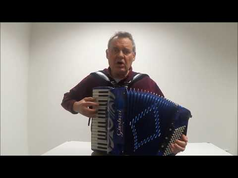 Funnel Of Love - Wanda Jackson cover on Accordion