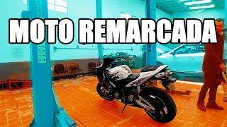 ASÍ sabrás que ES ROBADA || ¿Cómo descubrir si tu moto es remarcada? Consejos para comprar moto