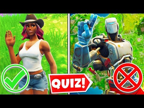 Can YOU Pass My Fortnite Season 6 Quiz?