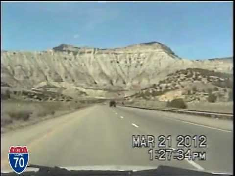 Las Vegas NV to Denver CO Time Lapse Drive.SPEEDTACULER