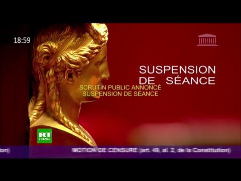 La motion de censure contre le gouvernement est débattue à l'Assemblée nationale