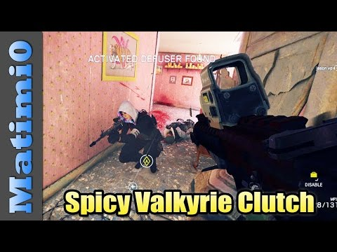 Spicy Valkyrie Clutch - Rainbow Six Siege
