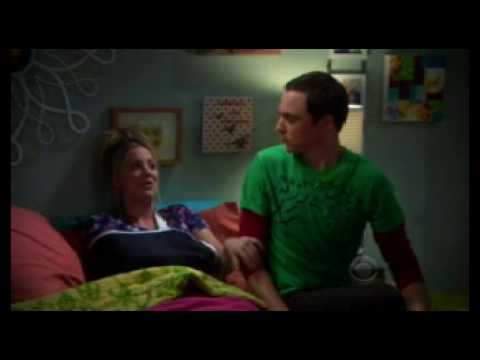 Big Bang Theory - Sheldon / Penny Soft Kitty in a round