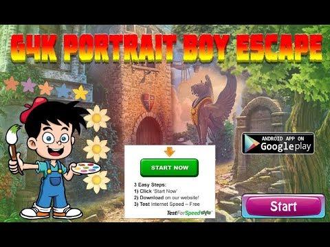 G4K Portrait Boy Escape Walkthrough [Games4King]