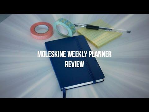 Moleskine Weekly Pocket Notebook Planner Review
