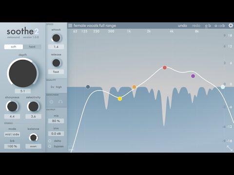 oeksound soothe2 - What's new?