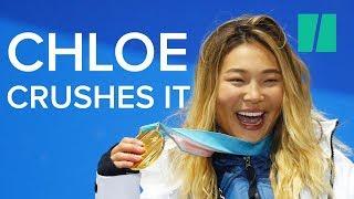 Chloe Kim Wins Snowboarding Gold At Age 17