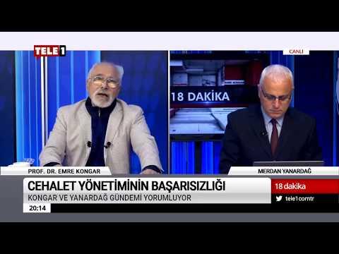 18 Dakika - (23 Kasım 2018) Merdan Yanardağ & Prof. Dr. Emre Kongar   Tele1 TV