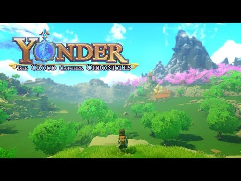 Let's Play Yonder // 1 // A BEAUTIFUL NEW WORLD! Yonder the Cloud Catcher Chronicles Gameplay