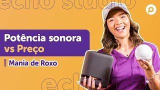 Imagem do prévia do vídeo: Amazon Echo STUDIO vs Amazon Echo DOT 4! Qual a DIFERENÇA entre as smart speakers ALEXA?