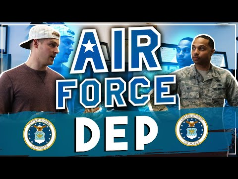 Air Force DEP meeting | Answering Air Force Recruiter Questions