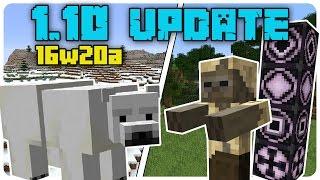 Minecraft 110 Update 1 - Bemutats Rviden 16w20a