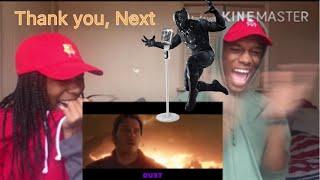 "Azerrz ""Black Panther sings Ariana Grandes Thank u, Next"" REACTION!!! #Azerrz"