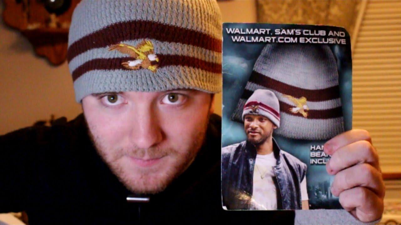 RARE Official Sony Will Smith Hancock movie Beanie Hat Review - YouTube 265cb53b4fa