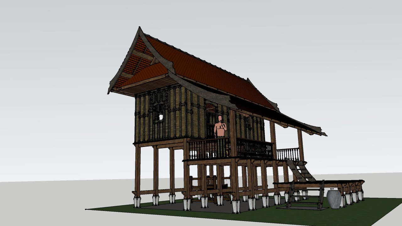 Rumah Tradisional Terengganu Tiang Enam Youtube
