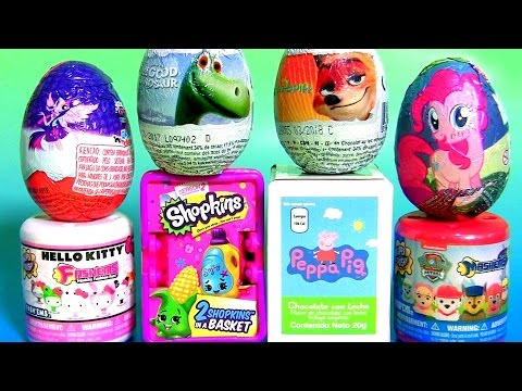 Kids Toys Surprise Paw Patrol Peppa Pig Pinkie Pie My Little Pony Hello Kitty Fashems