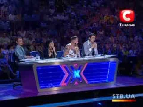 «The X-factor Ukraine» Season 1. Casting in Kharkov. part 1
