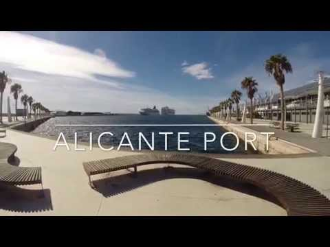 Alicante Port Ride on a Brompton Bike