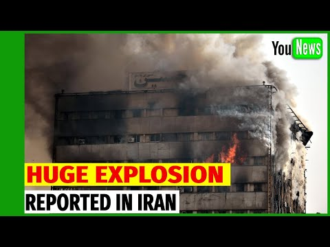 Huge Explosion reported at office building in Tehran