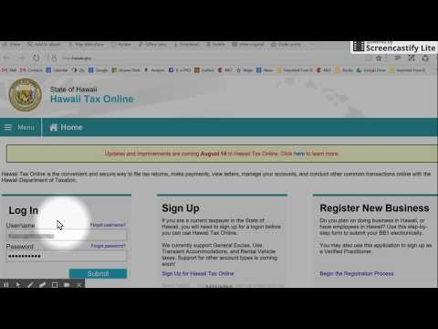 GET Hawaii - Easiest way to pay - part 1