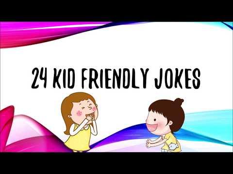 24 Kid Friendly Jokes