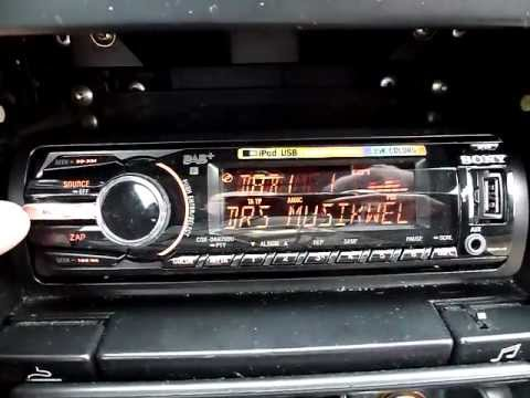 dab autoradio sony cdx dab700u test mit dab dab youtube