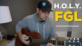 H.O.L.Y. | Florida Georgia Line | Beginner Guitar Lesson