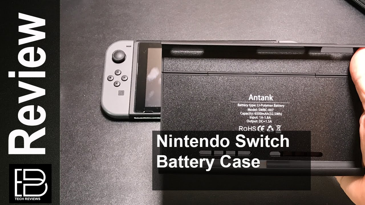 more photos 8fd80 c8321 Nintendo Switch Battery Case Review from ANTANK