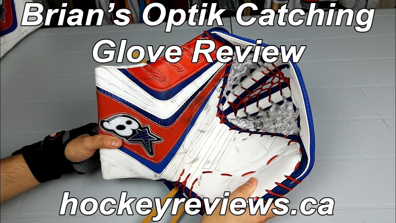 Brian's Optik Goalie Catching Glove Review, The Best Glove I've Worn