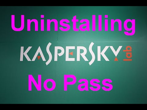 How to Remove Kaspersky Without Password?