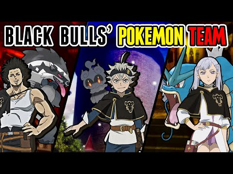 Black Bulls' Pokemon Team